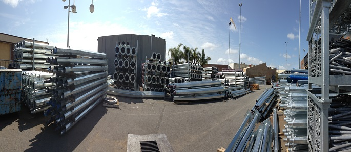 leading manufacturer of quaility poles and columns
